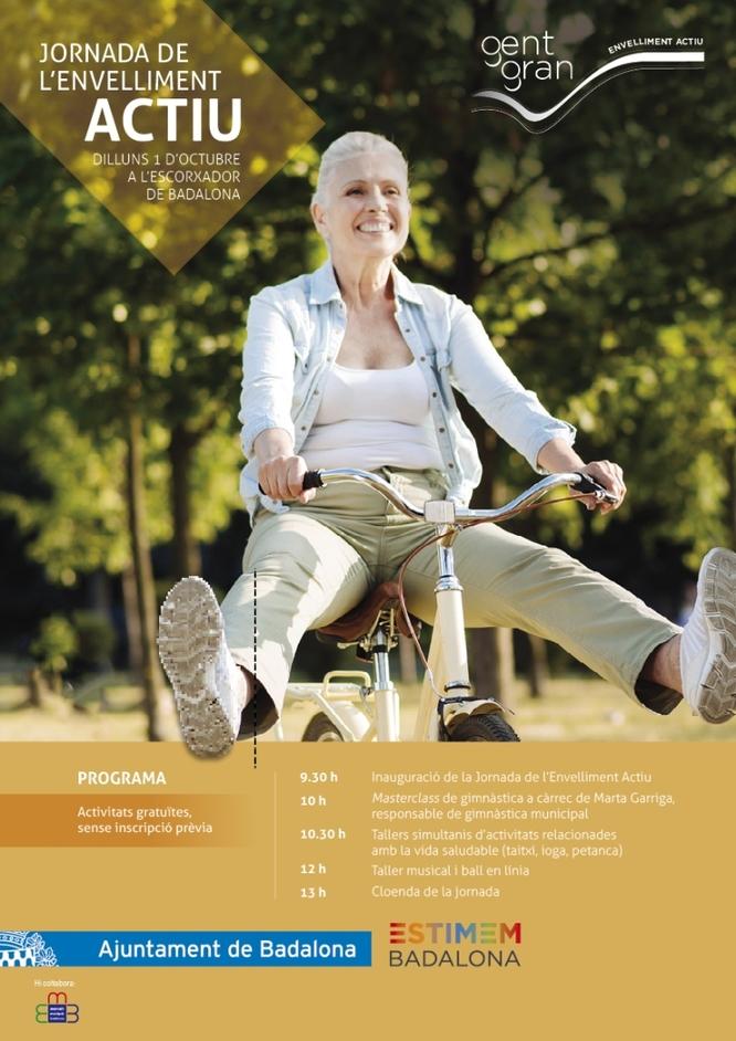 Badalona organitza la Jornada de l'Envelliment Actiu