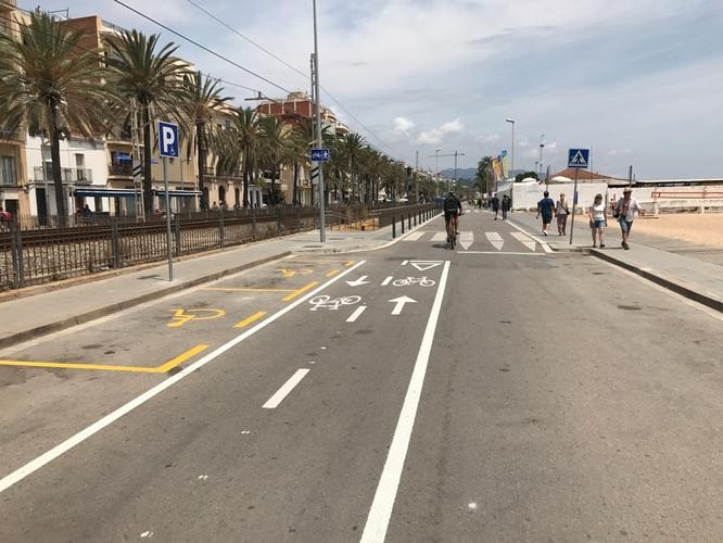 El Govern municipal presenta la proposta per a la construcció del nou passeig Marítim de Badalona fins al Torrent de Vallmajor