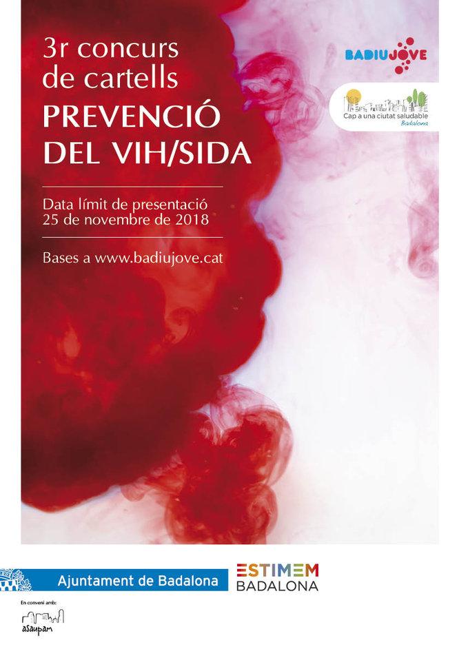 Convocada la III edició del concurs de cartells per a la prevenció del VIH/Sida