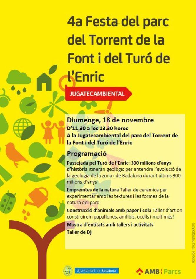 Activitats per aquest diumenge, 18 de novembre, als parcs de Badalona