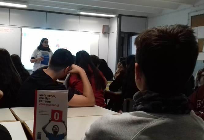 Més de 2.000 alumnes de Badalona rebran formació preventiva sobre el consum d'alcohol