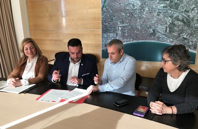 El Govern municipal i ICV-EUiA arriben a un acord per a l'aprovació del pressupost 2019
