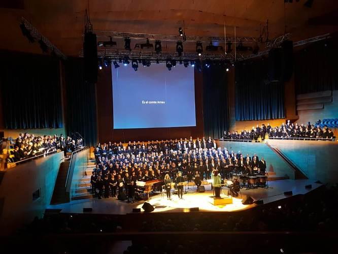 Diversos casals de gent gran de Badalona participen al concert Canta Gran! a l'Auditori de Barcelona