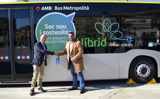 L'AMB presenta a Badalona les noves línies Metrobús M1, M6, M19, M26 i M30, les millores de les línies B24, B29 i M28 i els nous autobusos híbrids i elèctrics