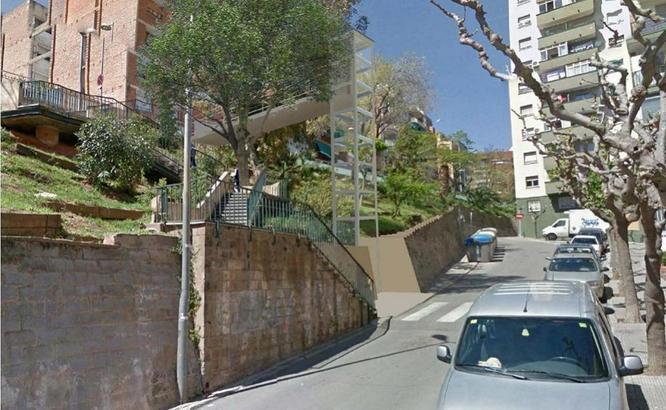 Dues noves escales mecàniques i dos nous ascensors milloraran l'accessibilitat als barris de la Pau, Sant Crist, Sant Joan de Llefià i la Salut