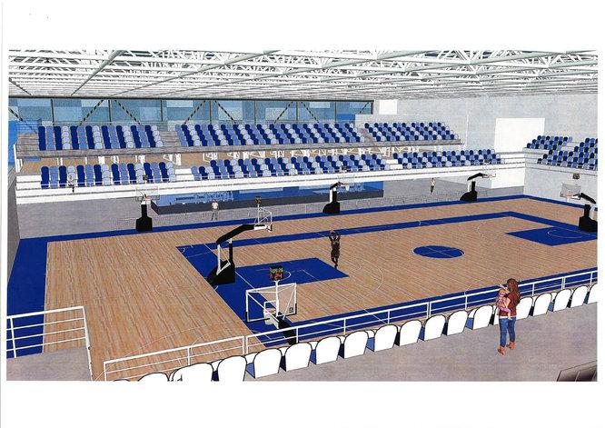 L'Ajuntament de Badalona presenta el projecte d'un nou pavelló poliesportiu polivalent al barri Manresà