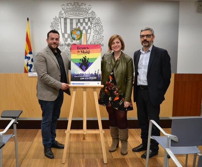 El mocador de les Festes de Maig 2019 tindrà els sis colors de la bandera LGTBI