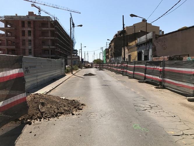 El tram del carrer del Progrés comprès entre els carrers Cervantes i Ponent romandrà tallat al trànsit durant tres mesos per obres