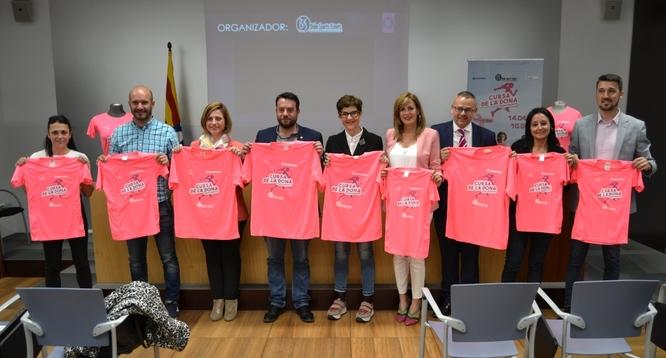 Diumenge 14 d'abril es celebra a Badalona una nova edició de la Cursa de la Dona
