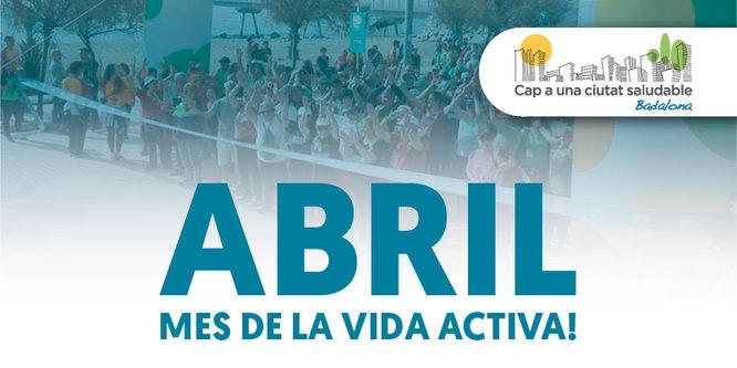 Badalona promociona l'activitat física aquest mes d'abril amb el