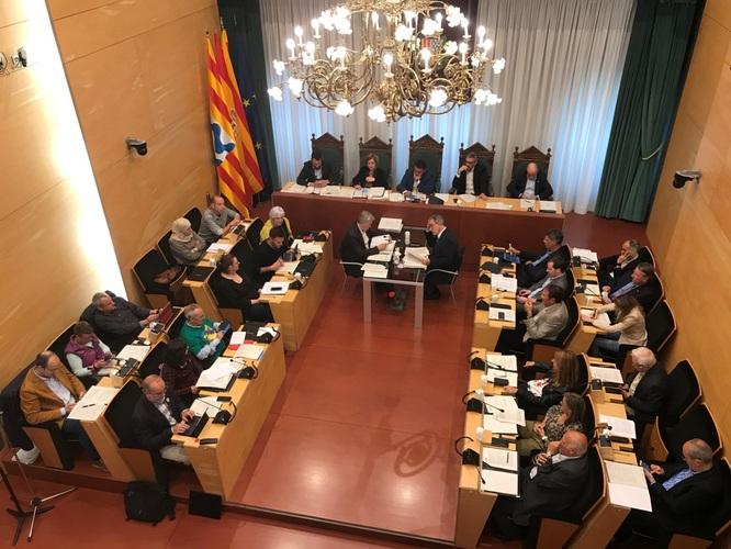 El Ple de l'Ajuntament de Badalona celebra aquest dimarts una sessió extraordinària i urgent