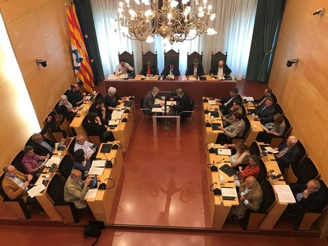 Resum dels acords del Ple extraordinari i urgent del 21 de maig