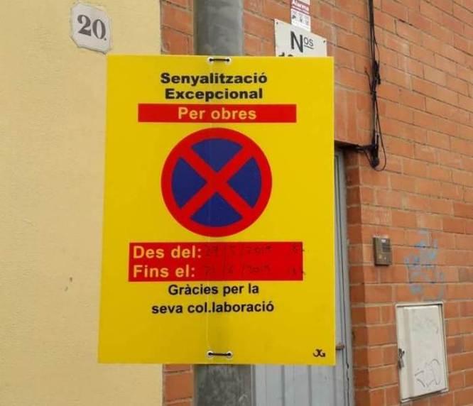 Divendres comencen les obres de reparació de la calçada del carrer de Ramon Martí i Alsina de Badalona