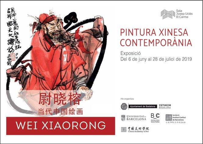 La sala Josep Uclés acull des d'avui una exposició de pintura xinesa contemporània de Wei Xiaorong