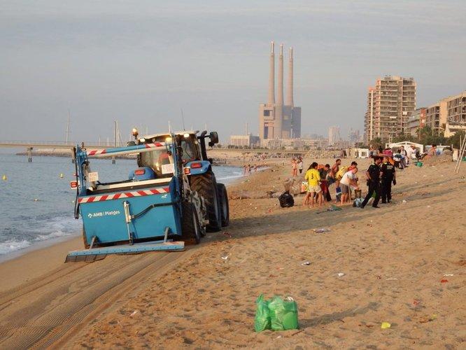 L'Ajuntament de Badalona ja té preparat el dispositiu especial a les platges de la ciutat per a la revetlla de Sant Joan