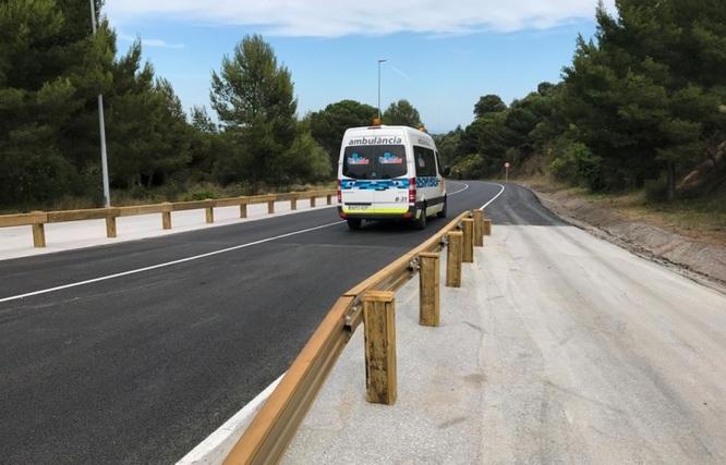 Es restableix el trànsit de vehicles en tots dos sentits de la carretera de Can Ruti de Badalona