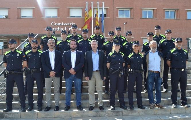 La Guàrdia Urbana de Badalona incorpora catorze nous agents