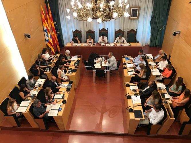 Resum dels acords del Ple extraordinari de l'Ajuntament de Badalona de 15 de juliol