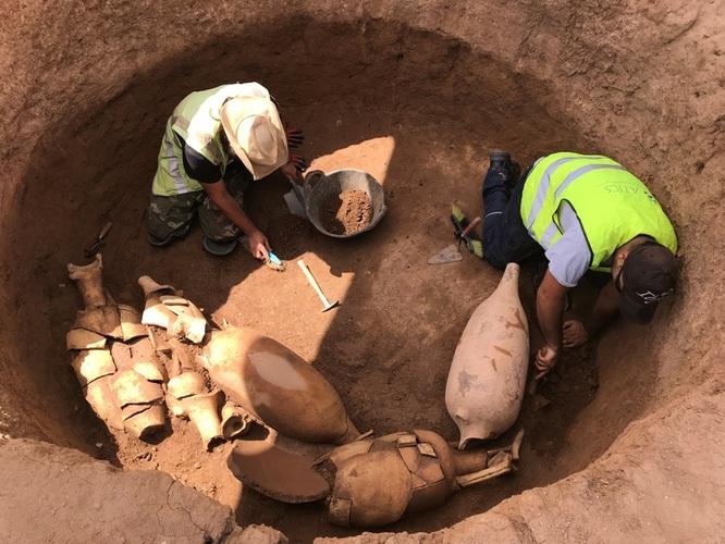 La intervenció arqueològica feta al solar de l'antiga fàbrica coneguda com l'Estrella ha permès documentar una vil·la romana de 2.633 m2