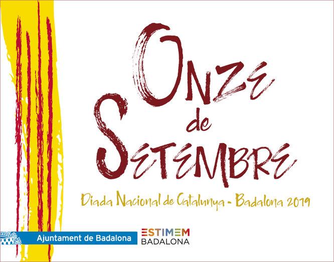 Badalona celebra la Diada Nacional de Catalunya aquest 11 de setembre a la plaça de La Plana