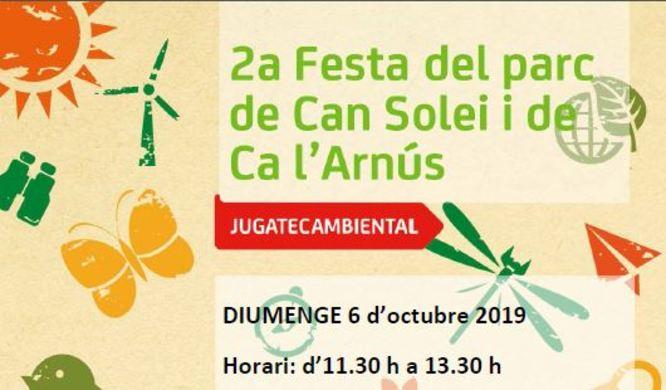 Activitats als parcs de Can Solei i Ca l'Arnús i del Torrent de la Font i del Turó de l'Enric de Badalona per aquest diumenge 6 d'octubre