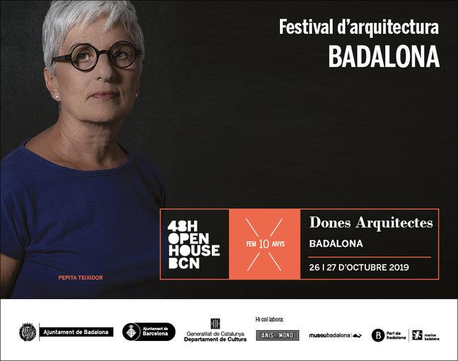 Badalona participa per quart any consecutiu al festival d'arquitectura 48h Open House BCN
