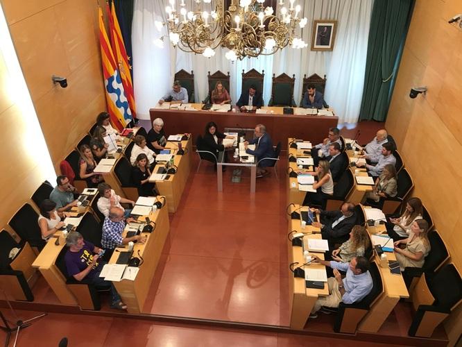 El dilluns 21 d'octubre, sessió extraordinària i urgent del Ple de l'Ajuntament de Badalona