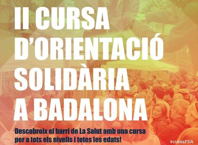 Aquest diumenge 27 d'octubre es celebra a Badalona la II Cursa d'orientació solidària