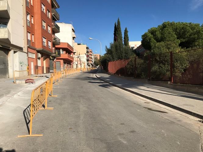 Aquest dilluns 11 de novembre comencen els treballs d'asfaltat del carrer Molí de la Torre