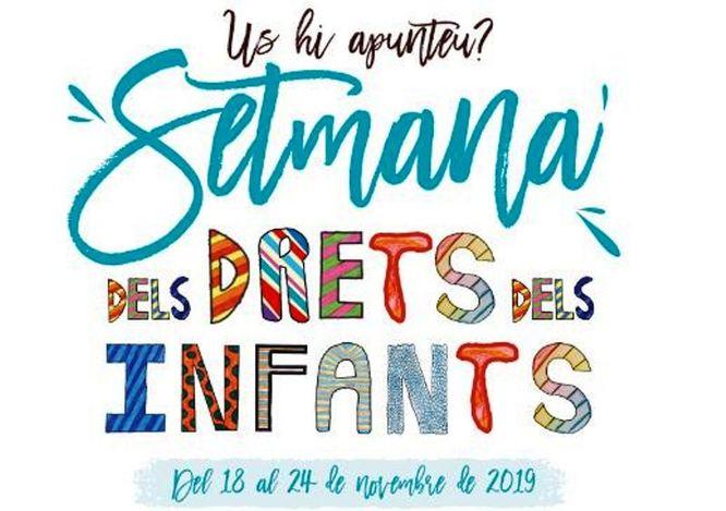 """Badalona celebra del 18 al 24 de novembre la """"Setmana dels Drets dels Infants"""" amb el lema """"Drets dels infants, deures de tothom!"""""""