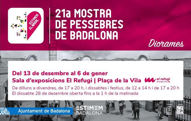Divendres s'inaugura el Pessebre de la plaça de la Vila i la 21a Mostra de Pessebres a la sala El Refugi
