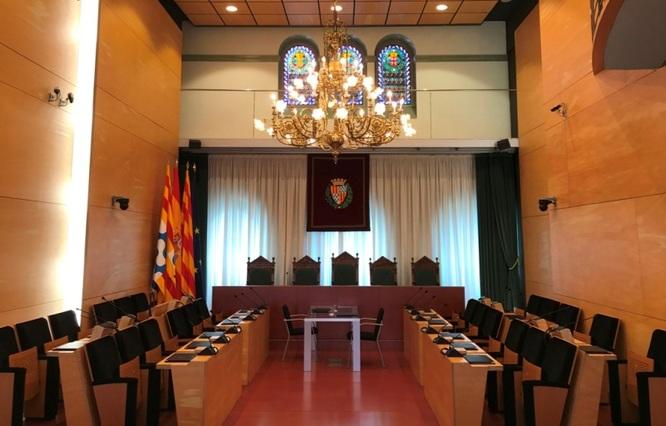El dimarts 17 de desembre, sessió ordinària del Ple de l'Ajuntament de Badalona