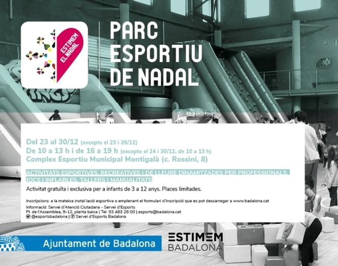 Propostes esportives a Badalona per aquesta segona quinzena de desembre
