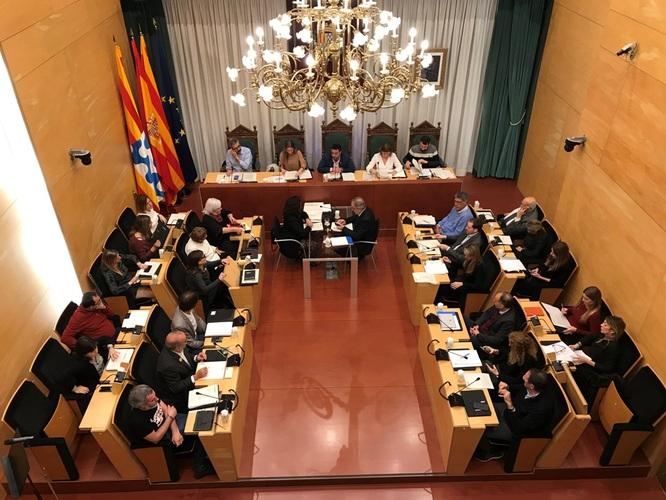 Resum dels acords del Ple de l'Ajuntament de Badalona del 17 de desembre de 2019
