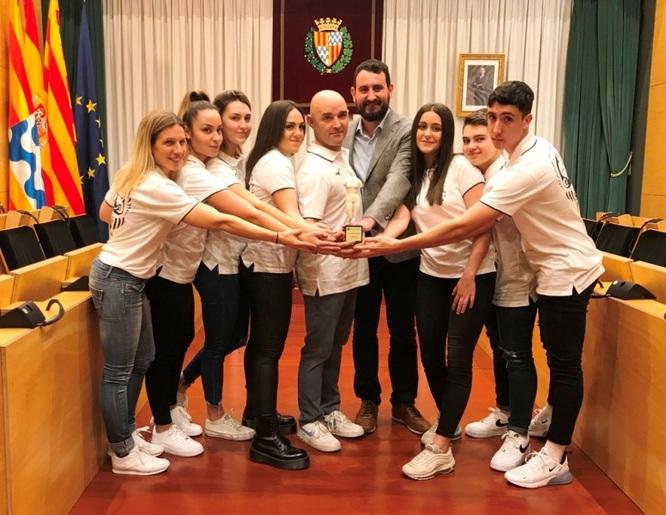 L'Ajuntament de Badalona reconeix els èxits esportius i la trajectòria del centre d'arts marcials Oyama's Karate del barri de La Salut