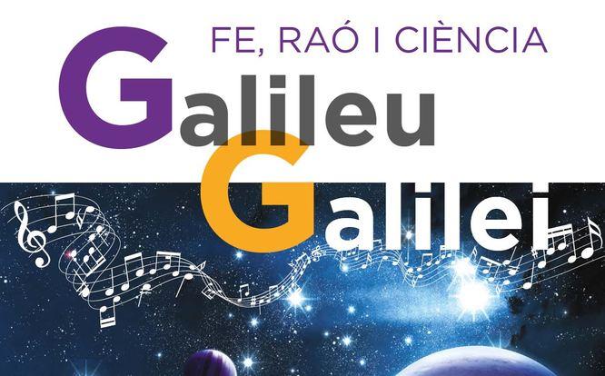 Alumnes dels centres de secundària de Badalona representen al Teatre Zorrilla l'espectacle musical 'Galileu Galilei. Fe, raó i ciència'