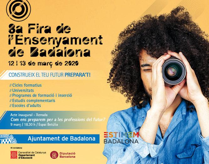 Badalona acull els dies 12 i 13 de març la 8a Fira de l'Ensenyament al Centre Cultural l'Escorxador