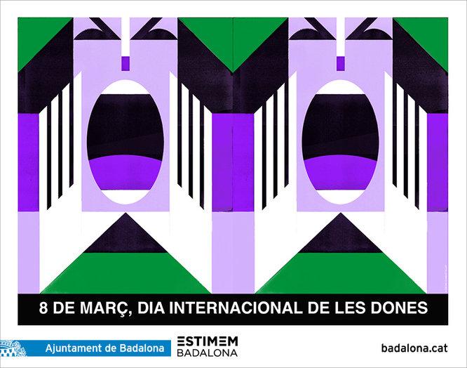 Badalona celebra un any més el Dia Internacional de les Dones