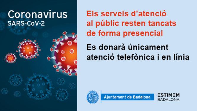 Comunicat sobre el coronavirus 16 març 2020