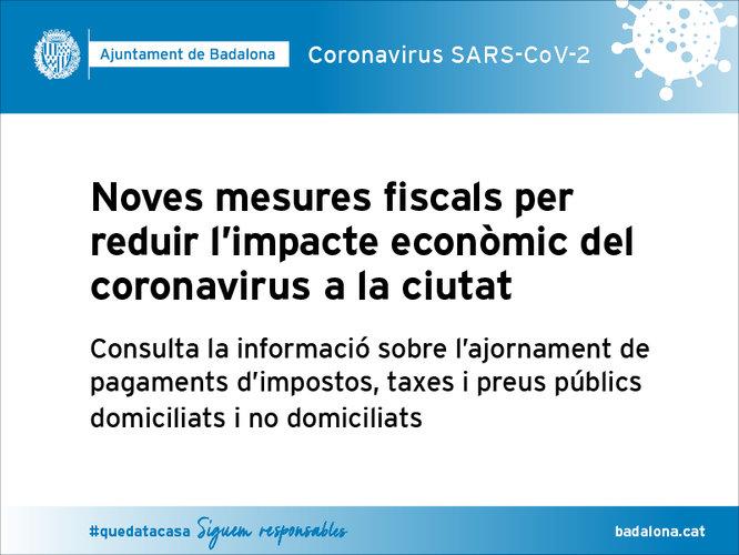 Comunicat de l'Ajuntament de Badalona en relació amb el coronavirus del 18 de març