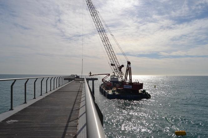 La pròxima setmana es reprenen les obres de les escales mecàniques dels carrers de Solsona i de Fortuny i la reparació del pont del Petroli