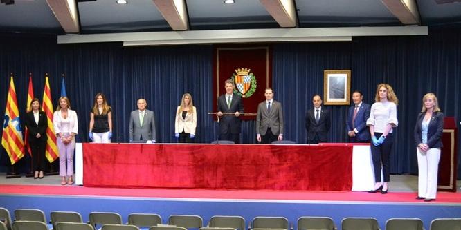 L'alcalde Xavier Garcia Albiol presenta les competències i delegacions dels regidors i les regidores del nou govern municipal