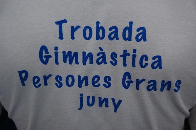 Ajornada la celebració del fi de curs de les classes de gimnàstica de la gent gran a Badalona