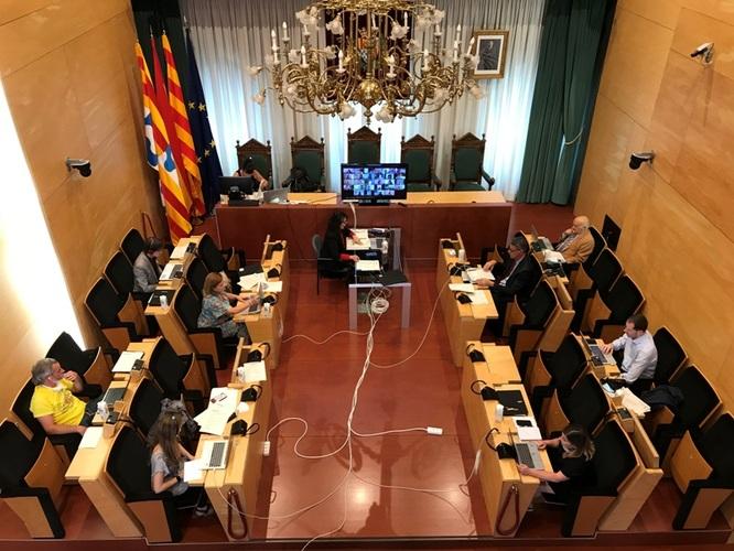 Resum dels acords del Ple de l'Ajuntament de Badalona del 18 de juny de 2020