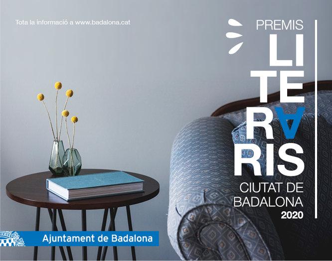 Concedits els Premis literaris Ciutat de Badalona 2020