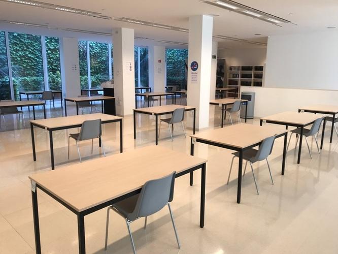 Reobre la sala d'estudis del Centre Cultural El Carme adoptant les mesures de prevenció sanitàries