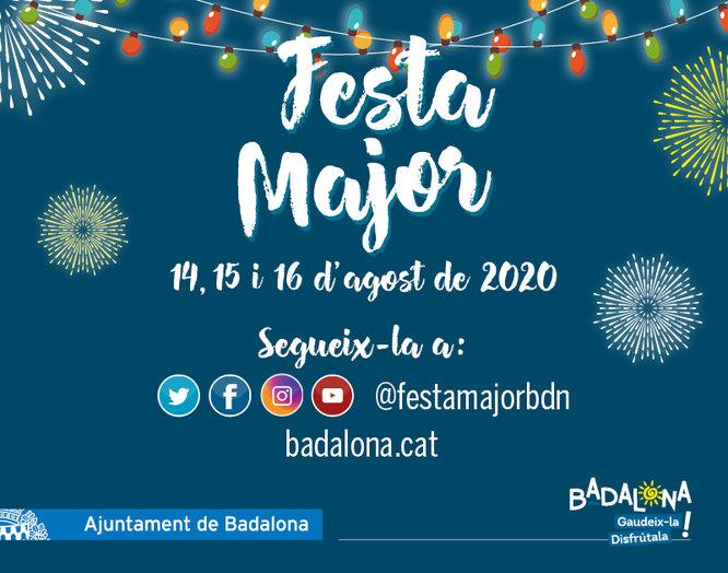 Badalona celebrarà la seva Festa Major del 14 al 16 d'agost