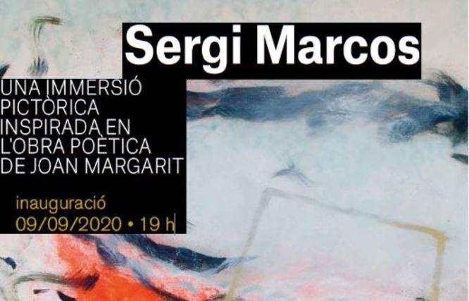 L'Espai Betúlia presenta l'exposició Sergi Marcos, una immersió pictòrica inspirada en l'obra poètica de Joan Margarit