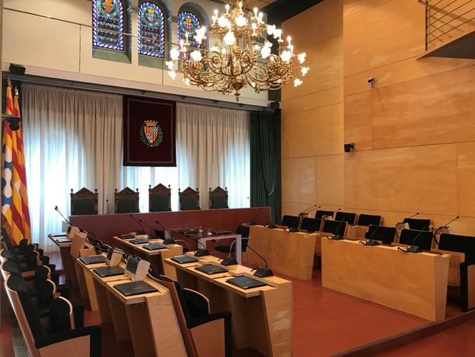 Aquest dimarts 29 de setembre, sessió ordinària del Ple de l'Ajuntament de Badalona