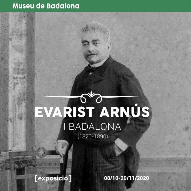 """El Museu de Badalona acull l'exposició """"Evarist Arnús i Badalona (1820-1890)"""""""